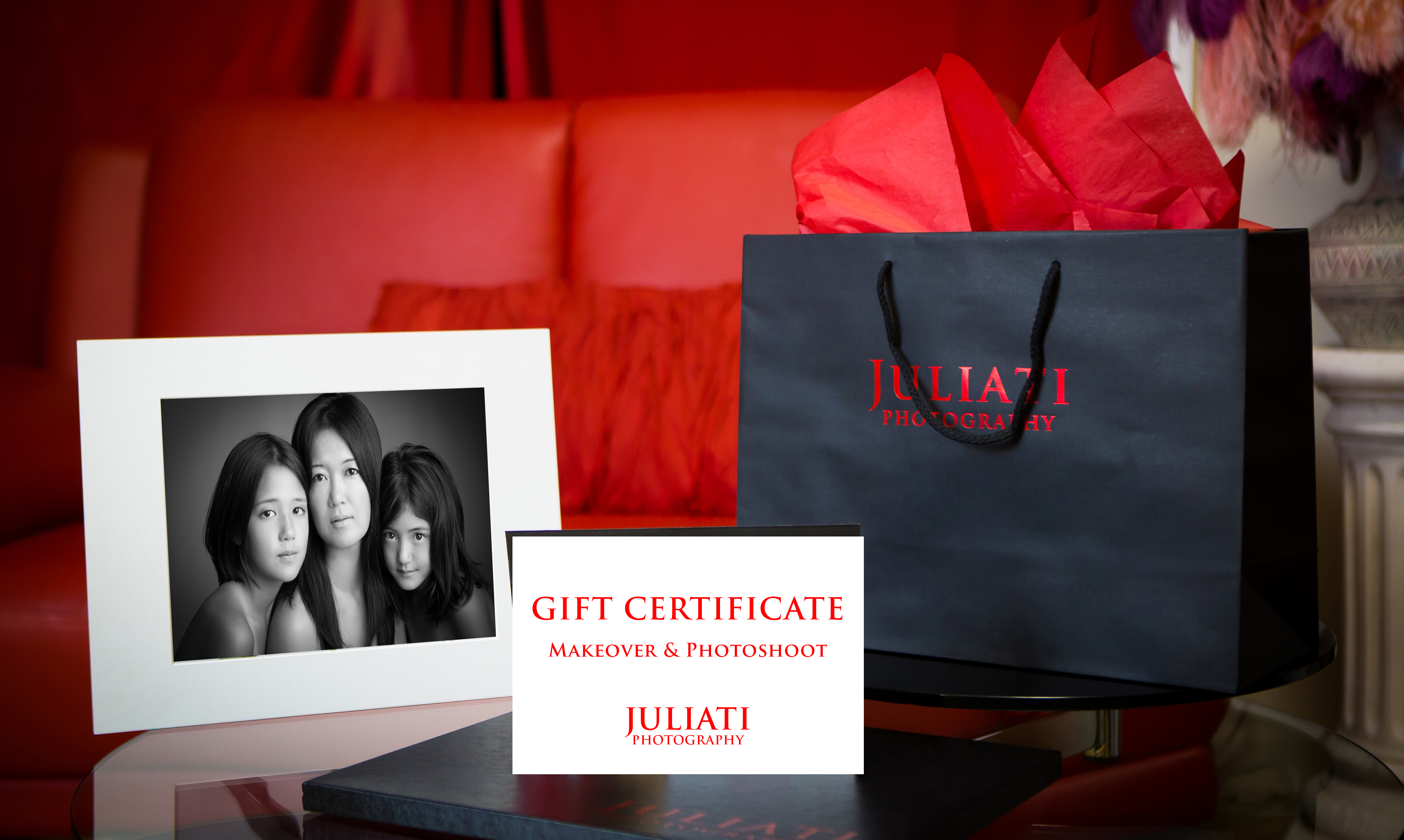 Mother Daughter Photoshoot Gift Certificate Julia